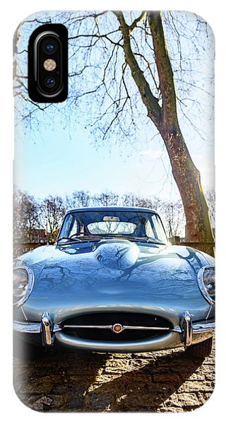 E Type Jaguar IPhone Case
