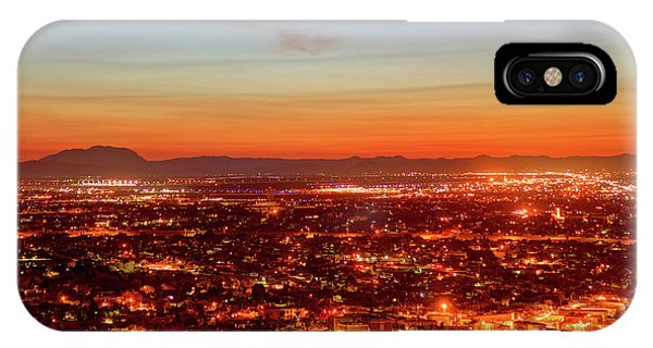 El Paso, Texas Phone Case by Denis Tangney Jr