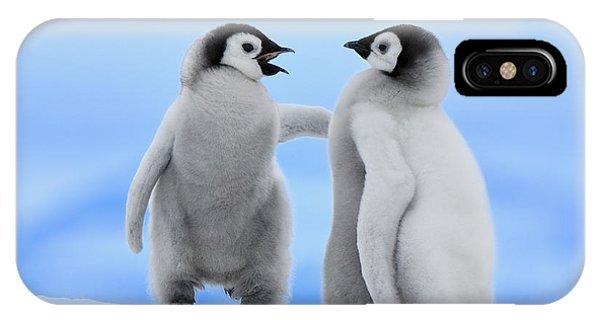 Emperor Penguin Aptenodytes Forsteri IPhone Case