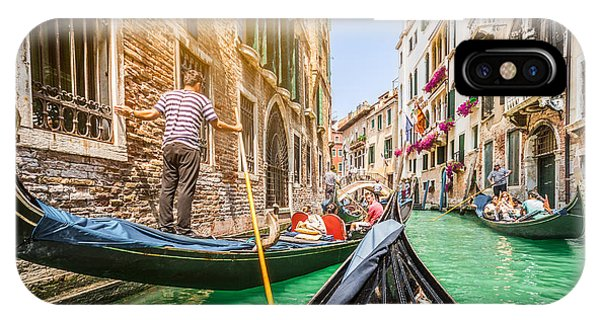 Exploring Venice IPhone Case