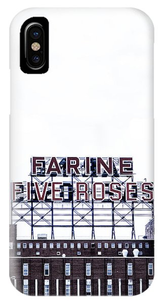 Quebec City iPhone Case - Farine Five Roses by Tanya Harrison