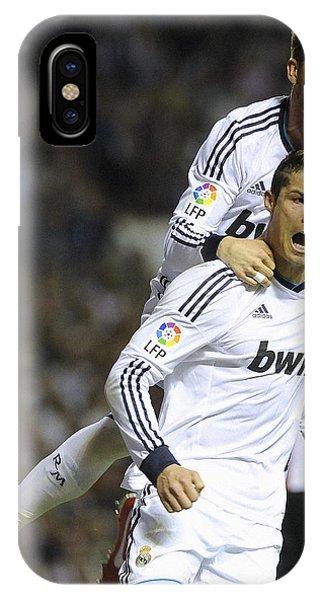 Cristiano Ronaldo iPhone Case - Cristiano Ronaldo 13 by Rafa Rivas