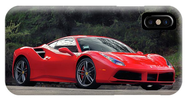 #ferrari #488gtb IPhone Case
