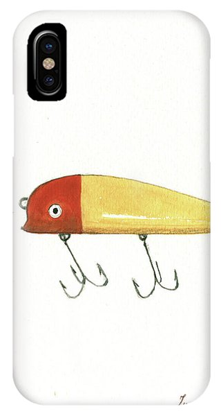 Nautical iPhone Case - Fishing Lure  by Juan Bosco