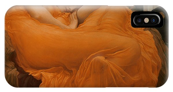 See iPhone Case - Flaming June by Frederic Leighton