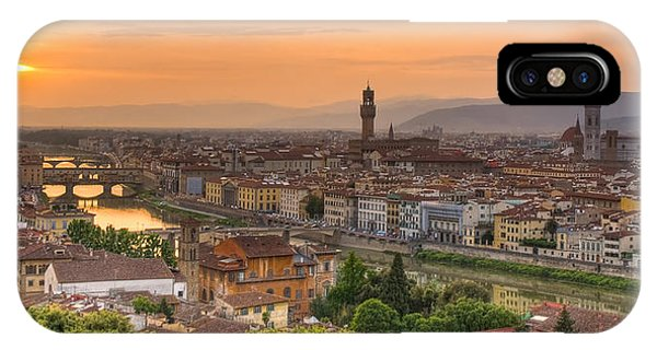 Florence Sunset IPhone Case