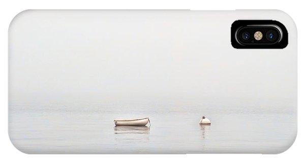 Foggy Mooring IPhone Case
