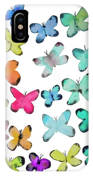 Butterfly iPhone Case - For A Friend by Roleen Senic