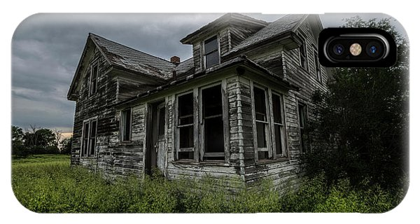 Middle Of Nowhere iPhone Case - Forgotten by Aaron J Groen