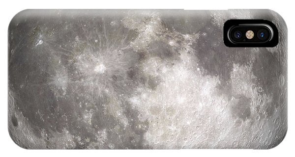 Exterior iPhone Case - Full Moon by Stocktrek Images