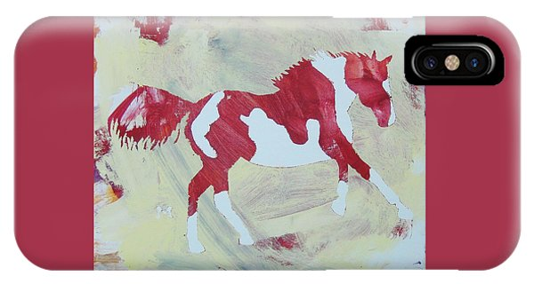 Galloping Pinto IPhone Case