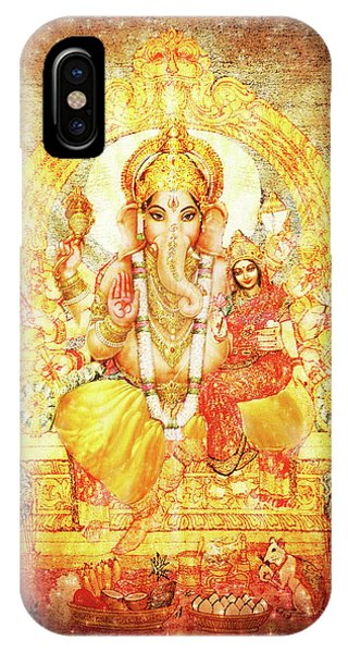 Ganesha Ganapati - Success IPhone Case
