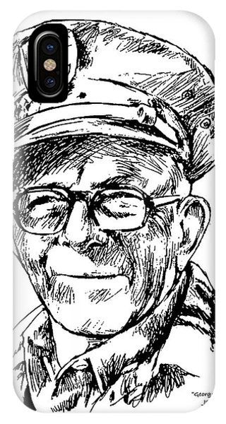 George Burns IPhone Case