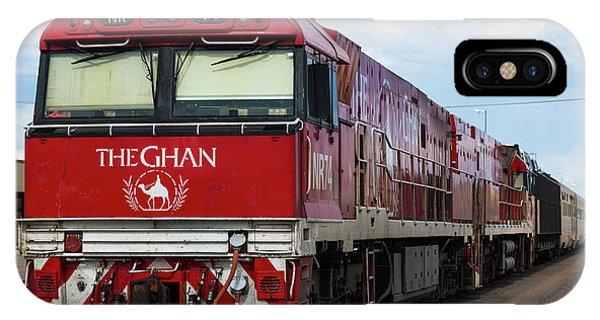 ghan at Alice Springs IPhone Case