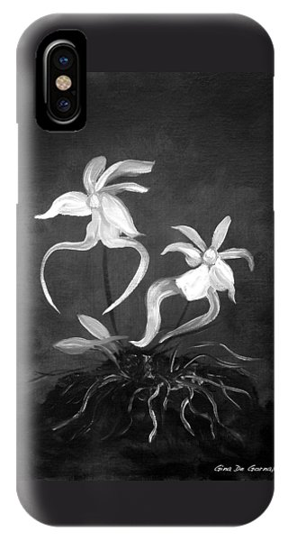 Ghost Orchids IPhone Case