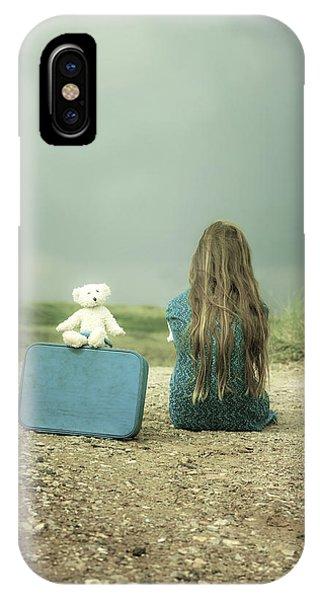 Girl In The Dunes IPhone Case