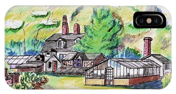 Glen Magna Farms Green House IPhone Case