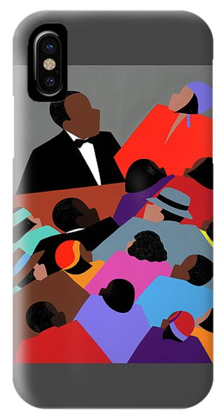 Harlem Renaissance Aka Jazzed IPhone Case