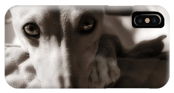 Heart You Italian Greyhound IPhone Case
