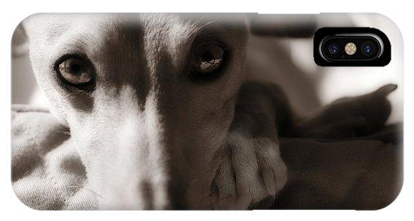 Heart You Italian Greyhound IPhone Case