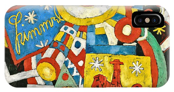 Culture Club iPhone Case - Himmel   by Marsden Hartley