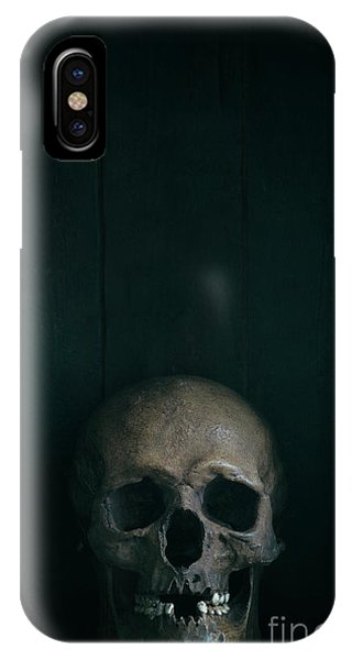 Human Skull IPhone Case