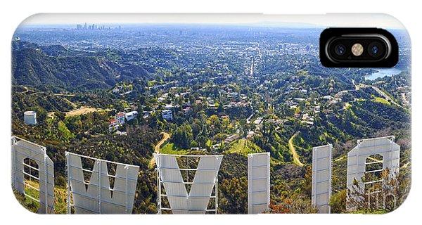 Iconic Hollywood  IPhone Case