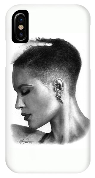 iPhone Case - Halsey Drawing By Sofia Furniel by Jul V