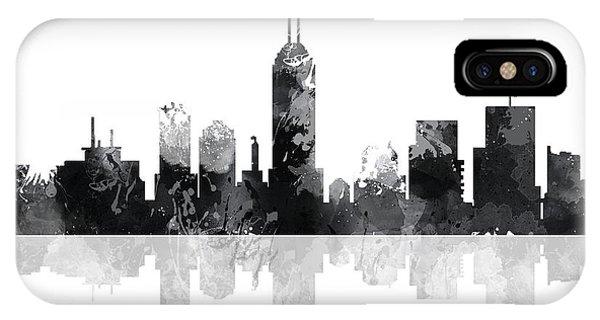 Indiana Indianapolis Skyline IPhone Case