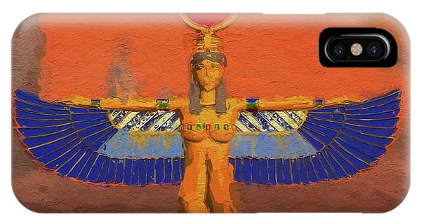 Isis, Mother Goddess Of Egypt By Mary Bassett IPhone Case