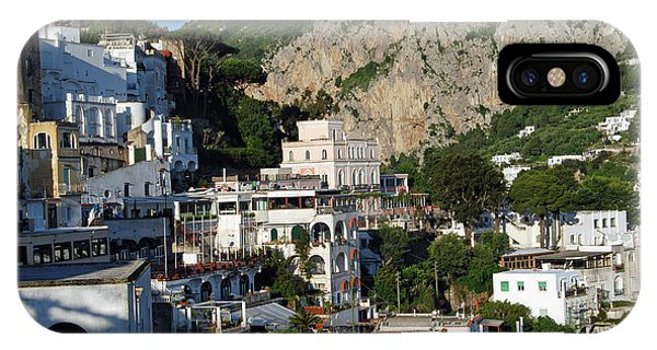 Isle Of Capri IPhone Case