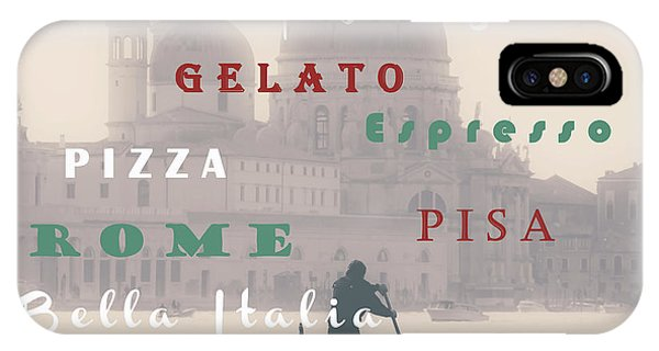 Italy iPhone Case - Italy by Joana Kruse