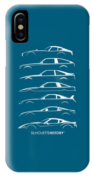 Japanese Sports Car Silhouettehistory IPhone Case