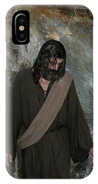Jesus Christ- Rise And Walk With Me  IPhone Case
