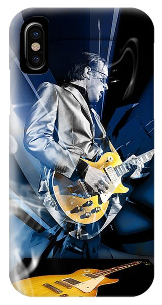 Joe Bonamassa Blues Guitarist Art IPhone Case