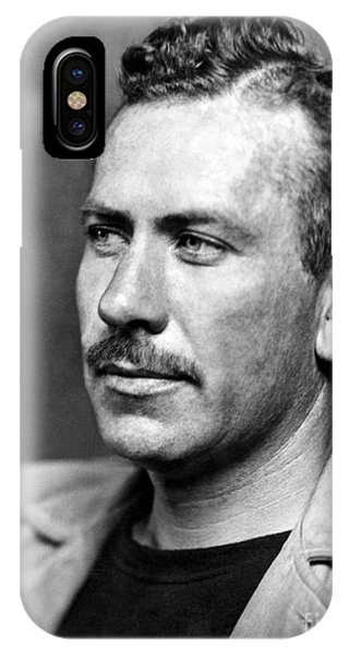 Nobel iPhone Case - John Steinbeck (1902-1968) by Granger