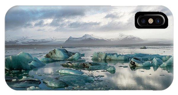 Jokulsarlon, The Glacier Lagoon, Iceland 3 IPhone Case