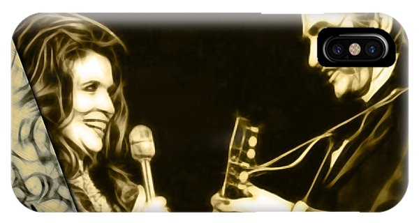 June Carter And Johnny Cash Collection IPhone Case