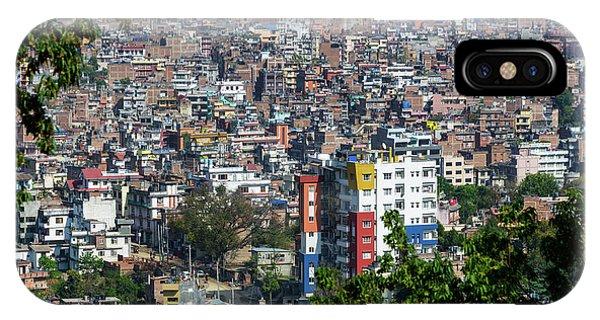 Kathmandu City In Nepal IPhone Case