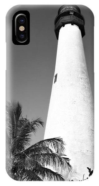 Key Biscayne Lighthouse IPhone Case
