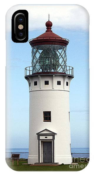 Kilauea Lighthouse On Kauai IPhone Case
