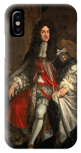 King Charles iPhone Case - King Charles II by Godfrey Kneller