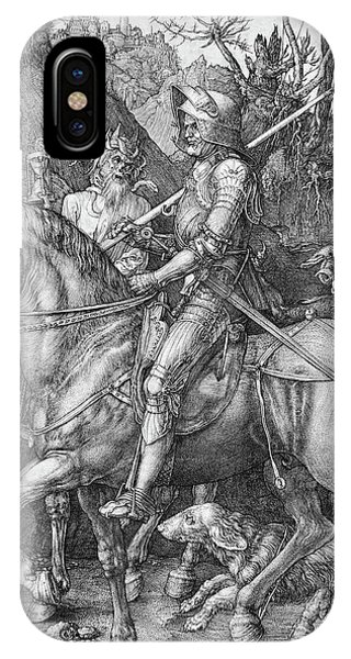 Knight Death And The Devil IPhone Case