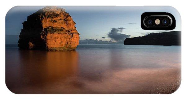 Ladram Bay In Devon IPhone Case