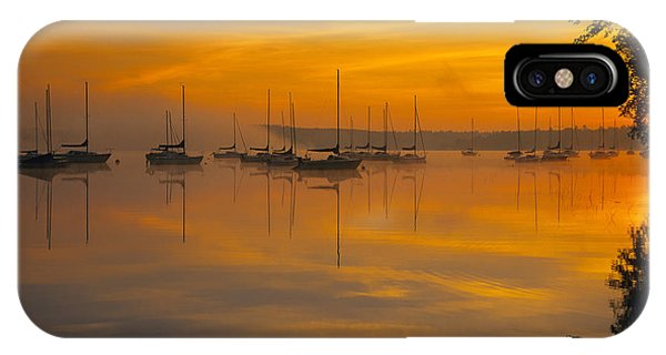 Lake Massabesic - Auburn New Hampshire Usa IPhone Case