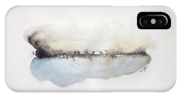 Abstract Modern iPhone Case - Lake by Vesna Antic