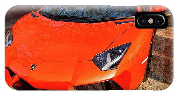 Lamborghini Aventador IPhone Case