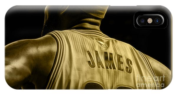 Lebron James Collection IPhone Case