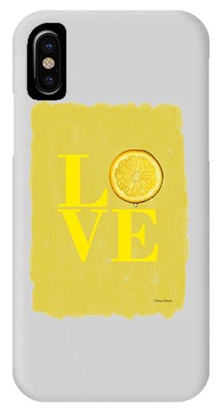 Lemon iPhone Case - Lemon by Mark Rogan