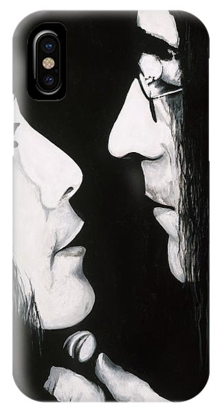 Lennon And Yoko IPhone Case